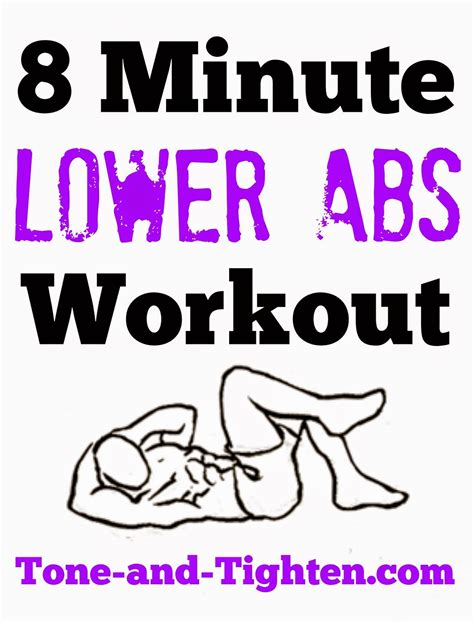 exercise ideas lower ab workouts 8 minute lower abs workout video workout tone and tighten