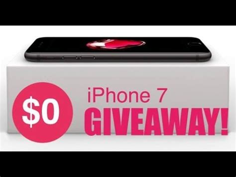 iphone giveaway iphone 7 giveaway how to get a iphone 7 and iphone 7 plus for free in 2017