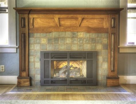 craftsman style fireplaces craftsman fireplace