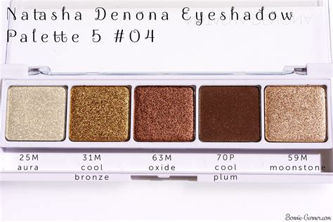 5 New Eyeshadow Palettes To Try by Denona Eyeshadow Palette 5 My Review Bonnie