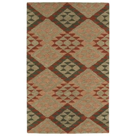shop kaleen lakota multi rectangular indoor handcrafted
