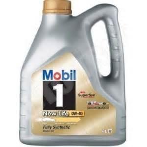 Mobil1 0w40 4l Sn olej silnikowy syntetyczny mobil 1 0w40 4l