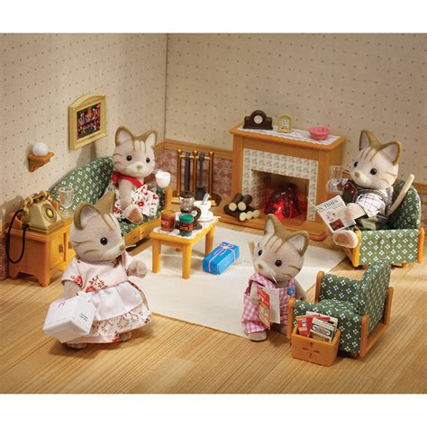 rooms r us 19 sylvanian families luxury living room set reviews dolls accessories sylvanian families