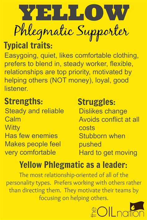 yellow color meaning yellow phlegmatic supporter haha so me color