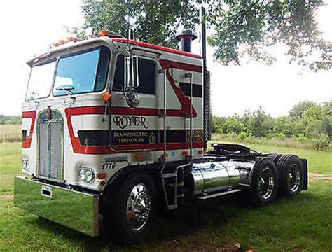 kenworth cabover history 1979 kenworth k100 cabover w 400 big cummins 13
