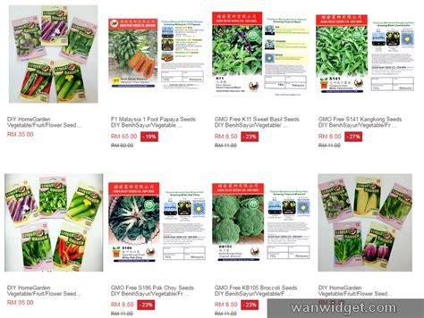 Benih Jagung Malaysia beli biji benih tumbuhan sayuran malaysia secara