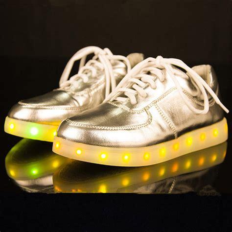 Gold Led Shoes 2015 new led shoes for black basket led light shoes