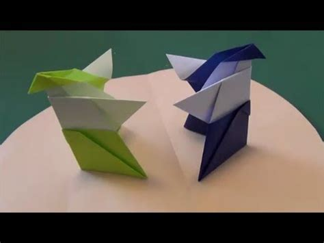 How To Make A Paper Sumo Wrestler - like this 紙相撲 how to make origami sumo wrestler