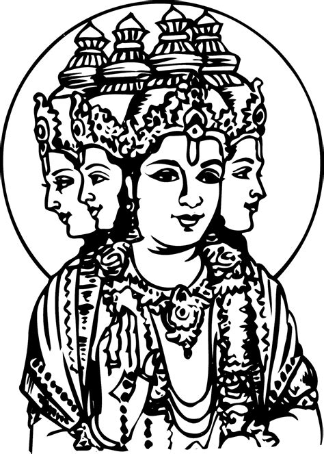 coloring pages of indian gods hindu mythology 8 gods and goddesses printable