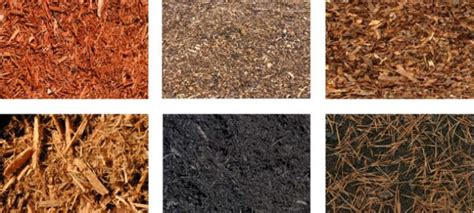 garden mulch types types of mulch for landscaping organic mulch types
