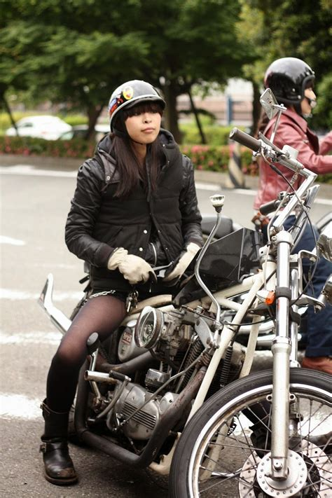mercenary garage chopper girl japan