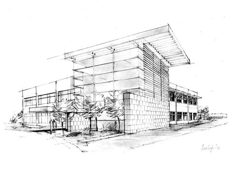 Sketches Architecture by Southwest Design Office Illustration Portfolio