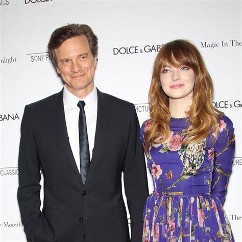 emma stone colin firth magic in the moonlight duo colin firth and emma stone on