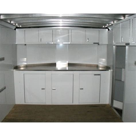 aluminum cabinets enclosed trailer 16 series aluminum wall cabinets moduline