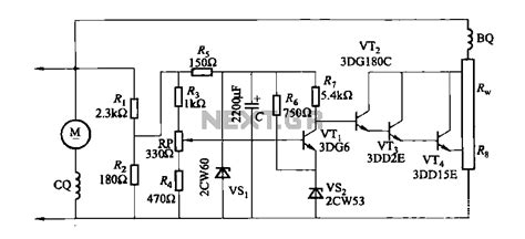 generator automatic voltage regulator schematic