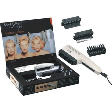 Professional Hair Style Tools by Style Hair 800 Hair Styling Set 800 Professional Hair