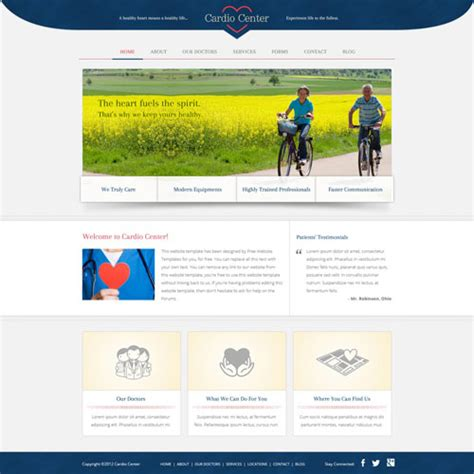 website templates for temple free download cardiology website template free website templates