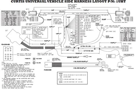 curtis snow plow wiring diagram 31 wiring diagram images