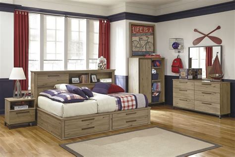Bed And Headboard Set Wooden Bedroom Set Present Bed Frame With Storage And