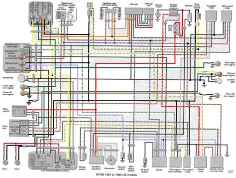 83 yamaha virago wiring diagram wiring diagram