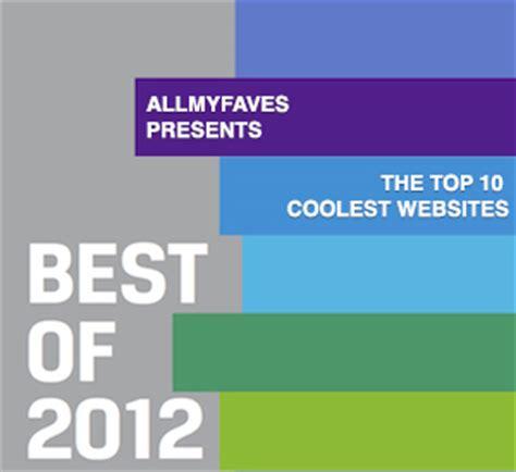 best websites the top 10 coolest websites best of 2012 171 the