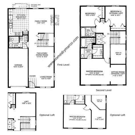 homes by marco floor plans drake model in the woodlake subdivision in naperville