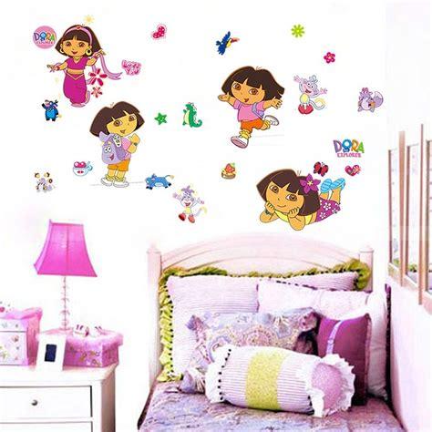 dora the explorer bedroom decor home decoration diy dora the explorer monkey vinyl wall sticker decals