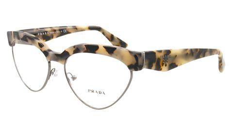 new prada eyeglasses vpr 05q tortoise kad 1o1 pr05qv 54mm