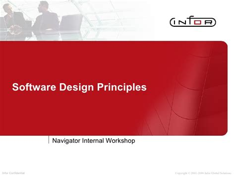 workshop layout principles software design principles