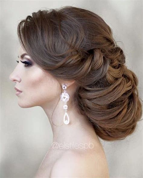 Wedding Hairstyles For Hair Pinned Up by Wedding Hairstyle Pinned Up Ringlets Updo Hair Wedding