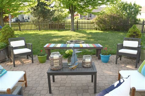 Patio Table Ideas Summer Outdoor Home Tour Our House Now A Home