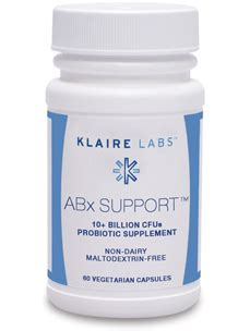Detox Support Klaire Labs by Abx Support 60 Caps