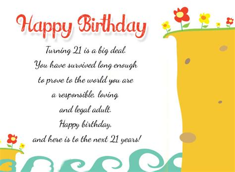 Happy 21st Birthday Wishes For Happy 21st Birthday Wishes Messages And Cards 9 Happy