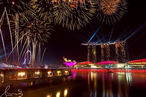 new year singapore program シンガポールの絶景写真画像