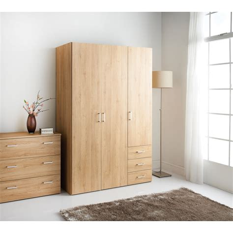 3 door wardrobe bedroom set hansberg 3 door wardrobe bedroom furniture b m
