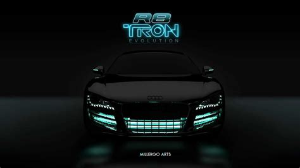 Audi R8 Tron Legacy Millergo YouTube