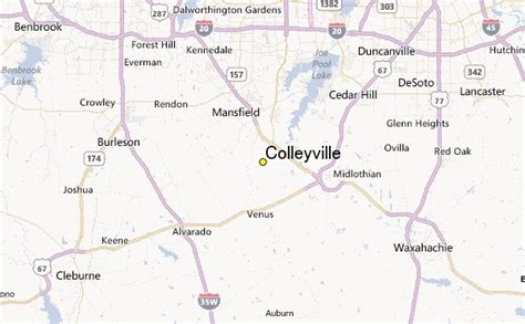 where is colleyville texas on texas map colleyville weather station record historical weather for colleyville texas