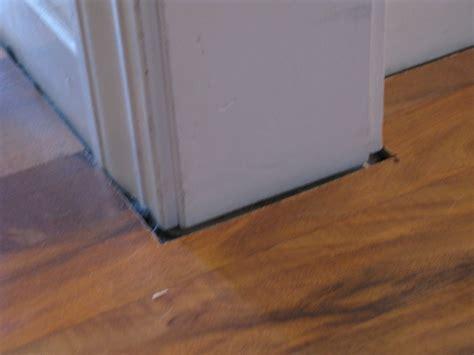 Laminate Flooring: Install Molding Around Laminate Flooring