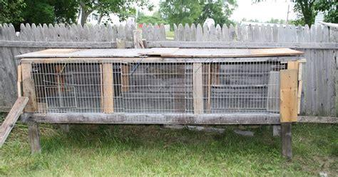 Rabbit Hutch Plans Little Blessings Farm New Rabbit Hutch