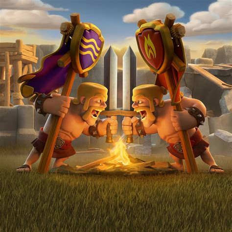 wallpaper laptop clash of clans clash of clans wallpapers wallpaper cave