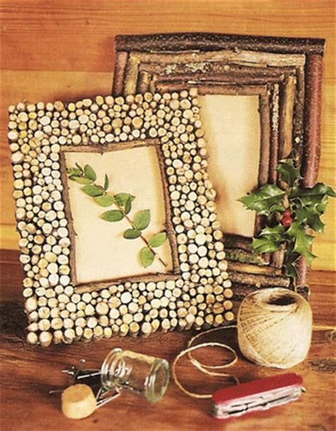 come decorare una cornice di legno creazioni originali con rondelle di legno 20 idee a cui