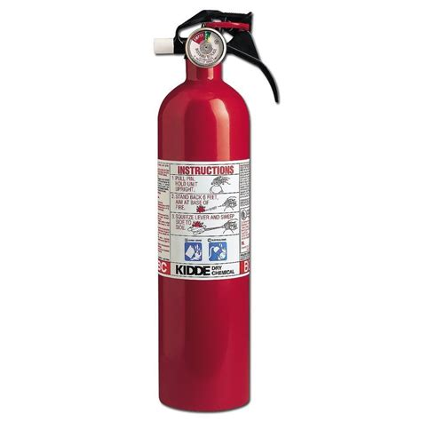 kidde extinguisher abc chemical home car shop