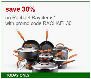 free shipping rachael ray coupons promo codes 2014 target rachael ray items extra 30 off free shipping