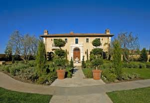 Country Front Yard Landscaping Ideas - rodeo estate tuscan landscape