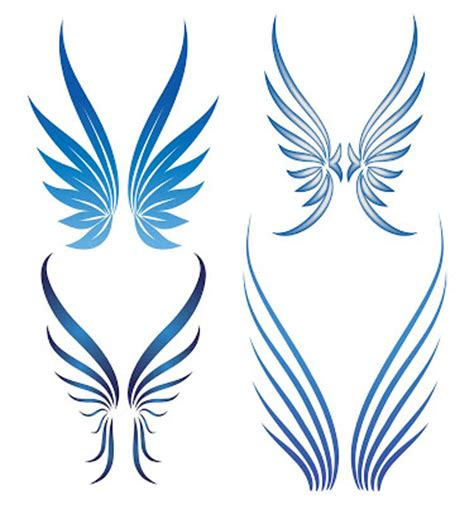 tribal angel wings tattoos wings tattooangel wings ideas aztec tribal