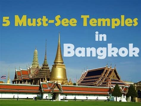 bangkok    thai temples youtube