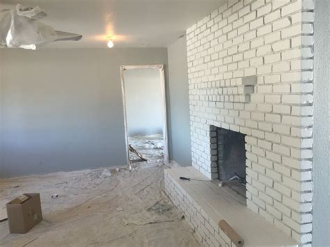 Sherwin Williams Magnetic Gray home in progress loving the paint colors magnetic gray