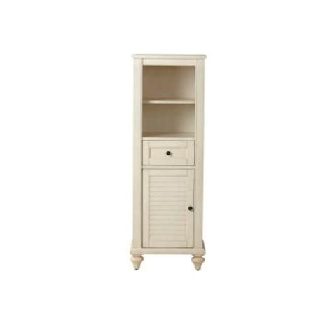home depot linen cabinet home decorators collection hamilton 18 in w linen cabinet in white 1235100410 the home depot