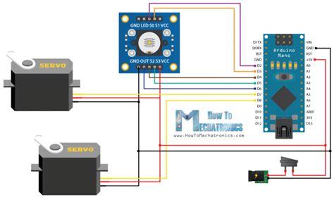 arduino color sensor arduino colour sensor and servo pro