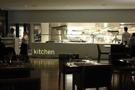 Open Restaurant Kitchen Designs
